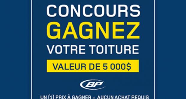 Gagnez votre toiture de 5 000 qu bec concours gratuits for Achat de maison quebec