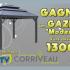 Gazébo « Modesto » de Corriveau Meubles de Jardin