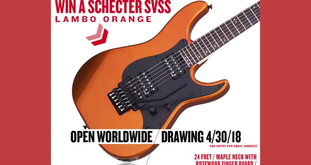 Guitare électrique Schecter SVSS Lambo orange