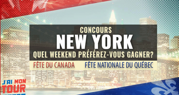 Un weekend pour 2 personnes à New York