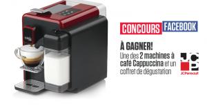 Une machine à café Cappucina de Caffitaly