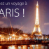 Voyage pour deux personnes à Paris