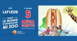 5 Méga party pour 10 personnes au zoo de Granby