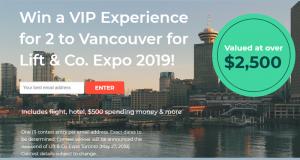 Gagnez un voyage VIP à VANCOUVER