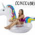 Tube gonflable licorne pour piscine