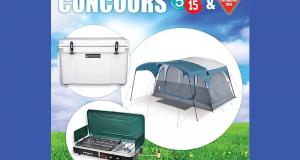 Un ensemble de camping d'une valeur de 775$