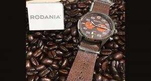 Une montre Rodania d'une valeur de 229$