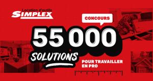 5000$ de crédit location applicables sur les outils et équipements de Simplex