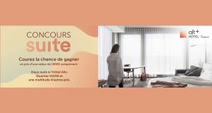 Forfait nuitées à l'Hôtel Alt+ Quartier DIX30