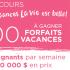 Gagnez l'un des 100 forfaits vacances au Québec