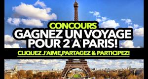 Gagnez un voyage pour 2 à Paris