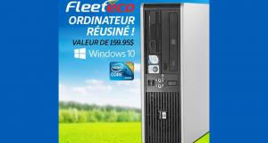 Un ordinateur réusiné FleetÉco