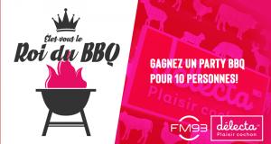 Un party BBQ pour 10 personnes