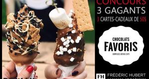 3 CARTES CADEAUX de 50$ chez Chocolat Favoris