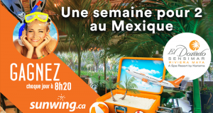 3 Voyages tous inclus pour 2 à Riviera Maya