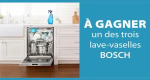 3 lave-vaisselle Benchmark Bosch de 3384 $ chacun