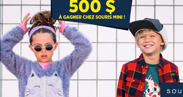 500 $ chez Souris Mini