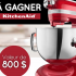 Batteur sur socle Artisan KitchenAid de 5 pintes