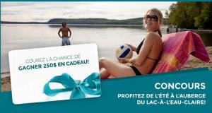 Carte cadeau de l'Auberge du Lac-à-l'Eau-Claire