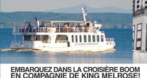 Croisière avec Les Croisières du Lac Champlain
