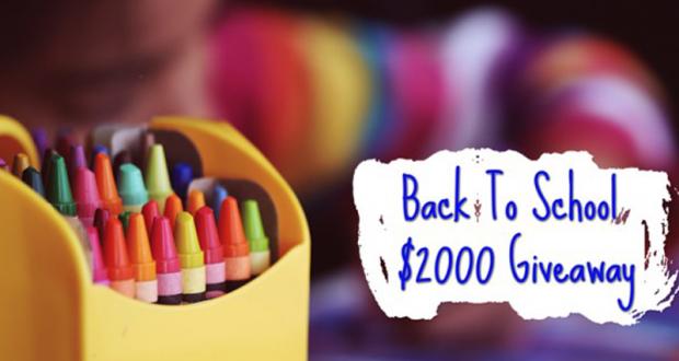 Gagnez 2000 $ pour la rentrée scolaire