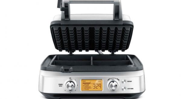 Gaufrier à 4 tranches Breville Smart Waffle Pro