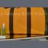 Polochon en cuir Veuve Cliquot et produits Jessica Johnson