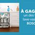 Trois lave-vaisselle de 24 po (3384 $ chacun)