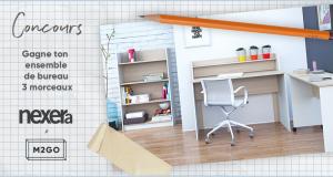 Un ensemble de mobilier de bureau 3 mcx