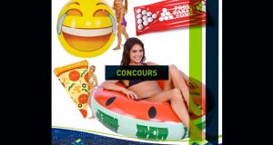 Un jeu gonflable pour la piscine