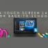 Un ordinateur portable à écran tactile