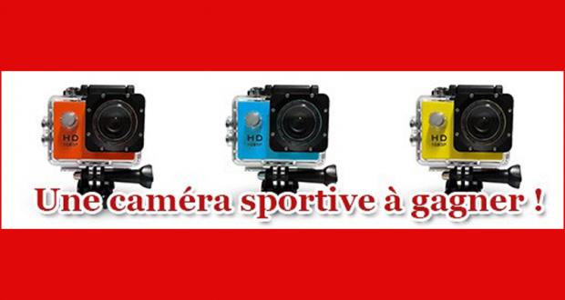 Une caméra sportive offerte par Toutacoup