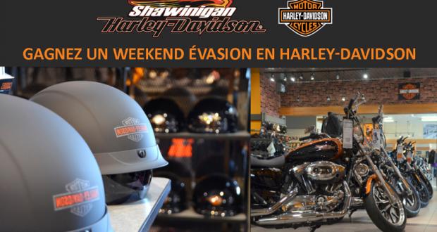Une location Harley-Davidson pour un weekend