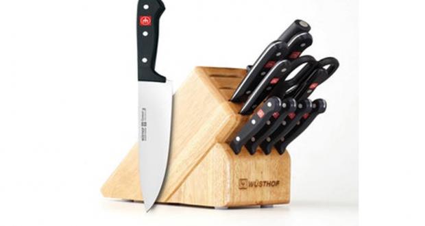 Ensemble de 12 couteaux à blocs (Valeur 249,99 $)