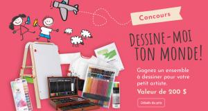 Ensemble de matériel pour dessiner DeSerres (200$)