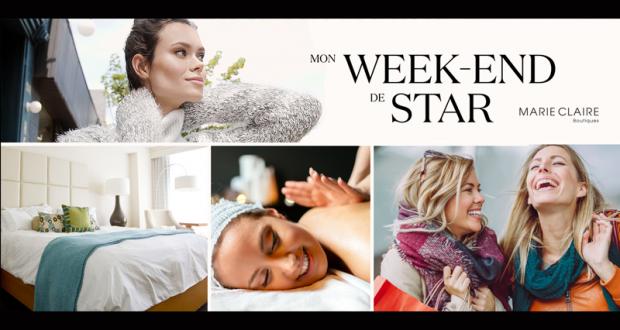 Gagnez Une fin de semaine de star d'une valeur de 4000$