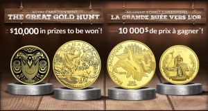 Gagnez des pièces d'or d'une valeur de 4924,80 $