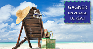 Gagnez un Voyage pour 4 parmi 6 destinations (15'000$)