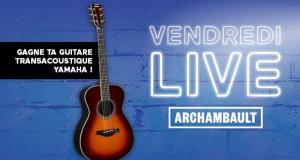 Guitare Transacoustic Concert Brown Sunburst de Yamaha (1120$)