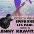 Guitare autographiée par Lenny Kravitz