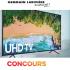 "Télévision Samsung Intelligente 4K de 55"""