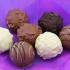 Un an de chocolat aux truffes Lindor
