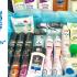 Un panier cadeau de produits de beauté Unilever