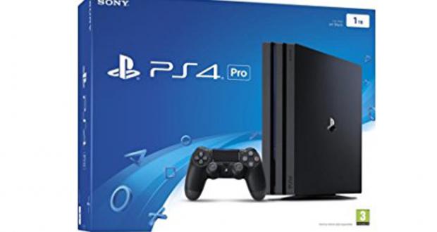 Une console PS4 Pro de 525$ avec un jeu