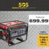 Une génératrice de 4000 watts