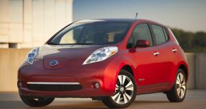 Une location d'un an d'une Nissan Leaf