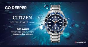 Une montre Citizen Promaster Diver