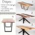 Une table offerte par Concept M Rustique
