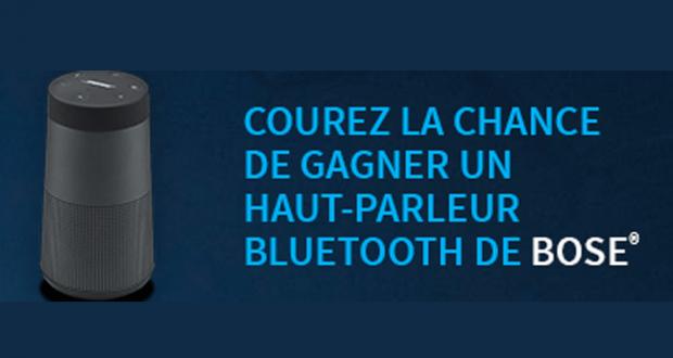 12 haut-parleurs Bluetooth Bose de 290 $ chacune