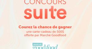 Carte-cadeau de 500 $ offerte par Marché Goodfood